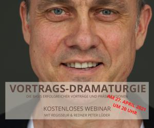 Vortrags-Dramaturgie - Die Basis erfolgreicher Vorträge